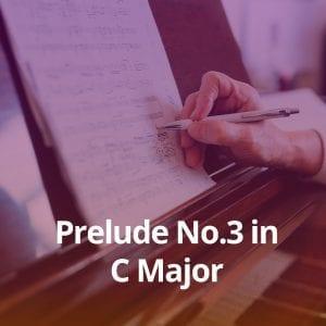 Prelude No.3 in C Major